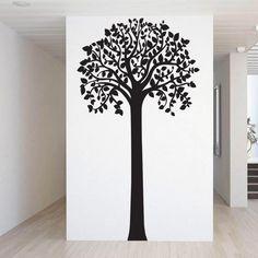 Højt træ wallsticker