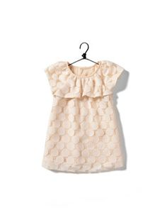 vintage baby - what a sweet little dress!