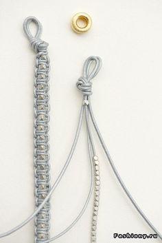 Плетенные браслеты своими руками !