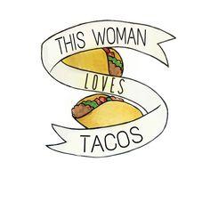 The Taco Love is real/  I Heart Tacos