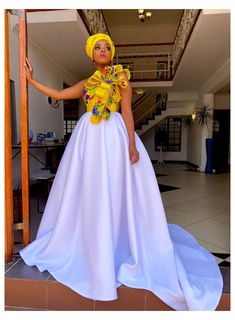 Wedding Dresses South Africa, African Print Wedding Dress, African Wedding Attire, South African Weddings, African Attire, African Maxi Dresses, Latest African Fashion Dresses, African Dresses For Women, South African Fashion