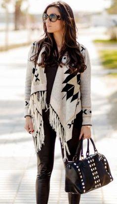 Long Sleeve Asymmetrical Cardigan Sweater