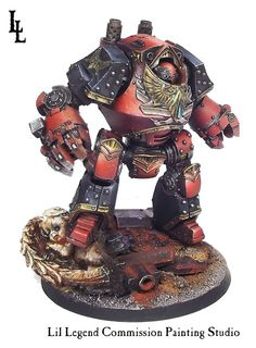 High quality professional commission painting service for Games Workshop Forgeworld, and all miniature hobby games.