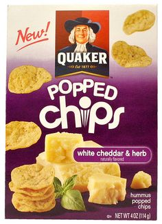 Quaker Popped Chips, anything Quaker popped is SWEET!