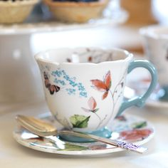 Lovely Tea Cup & Saucer perfect for Mother's Day.