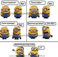 minions | Enviar por correo electrónico Escribe un blog Compartir con Twitter ...
