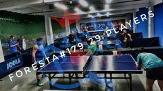 Turneul săptămânal #FORESTA etapa 179:  29 jucători #pingpong #tenisdemasa #asztalitenisz #tabletennis #tischtennis #oradea