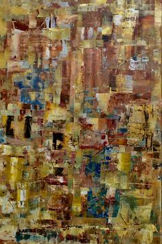 Abstrato 4 -arquitectura e reflexos  Acrílico sobre tela 80x120