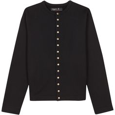 agnès b. French Designer Brands, French Fashion Designers, Mode Simple, Bronze, Inspiration Mode, Wrap Sweater, Black Cardigan, Modest Fashion, Sweaters