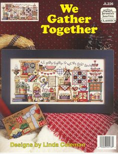 Schema Punto Croce Country: We Gather Together 01