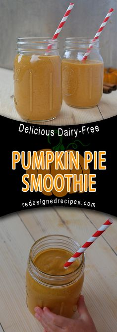 Pumpkin Pie Smoothie (DF) A delicious and healthy smoothie that tastes just like pumpkin pie. When I used to think of pumpkin, I would immediately think of the fall time. One of my favorite seasons of the year when the weather cools off, and I get to watch the leaves on the trees turn wonderful Read More
