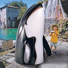 Thar She Blows Killer Whale Home Decor Statuesltl-Nr