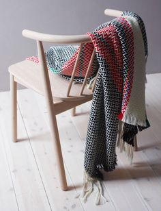 Bunad Blankets by Andreas Engesvik  #zigzagblankets