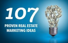 Implemented correctly, strategic and innovative real estate marketing ideas give agents an advantage over the competition, generate leads, and make it much easier to convert those leads into customers. #Realestateleadgeneration #leadgenerationideas To know more about real estate lead generation ideas you can visit http://inboundrem.com
