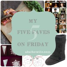 My Five Faves on Friday | 01.03.14 edition