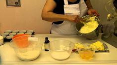cum sa pregatesti briose vanilie cu crema unt  (cupcake-uri vanilie)