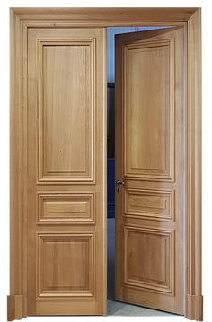 Wooden Double Doors, Wooden Front Door Design, Modern Wooden Doors, Wood Front Doors, Big Doors, Grill Door Design, Room Door Design, Door Design Interior, Flush Door Design