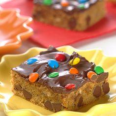 Peanut Butter Chocolate Confetti Squares