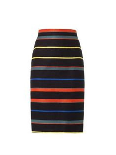 Striped tweed pencil skirt | Givenchy | MATCHESFASHION.COM