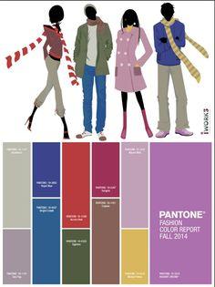 Fall 14 pantone color report