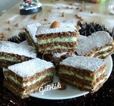 Mandula szelet Izu, Winter Food, Tiramisu, Cheesecake, Ethnic Recipes, Sweet, Instagram, Google, Food Cakes