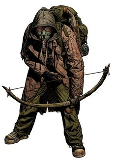 Book of Eli - character & concept design - Chris Weston Apocalypse World, Apocalypse Art, Apocalypse Survivor, Nuclear Apocalypse, Post Apocalyptic Art, Post Apocalyptic Fashion, Nail Bat, Character Concept, Character Art