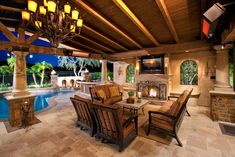 Covered Patio Rooms | Outdoor Rooms/Patio Covers mediterranean-patio