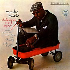 "Monk's music: Thelonious Monk Sextet, cover by Paul Bacon. He is an American book and album cover designer and jazz musician, born December 25, 1923. He is known for introducing the ""Big Book Look"" in book jacket design, and has designed about 6,500 jackets and more than 200 jazz record covers."