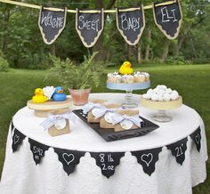 Chalk Cloth Pennant Garland to Customize for by SouthHouseBoutique, $16.00