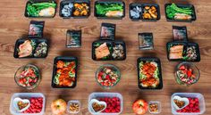 Meal prep goes faster – and we think it's more fun – when two people share the work in the kitchen. This week see how two people with different caloric needs can meal prep together.