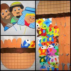HISTORIA BIBLICA 5 PÃES E 2 PEIXINHOS | X DAS ARTES - by Roselita | Elo7