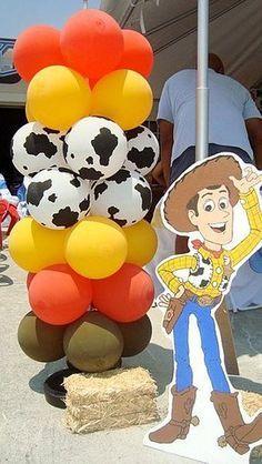 "Photo 1 of 22: Toy Story Woody Round Up / Birthday ""Toy Story Woody Round Up""   Catch My Party"