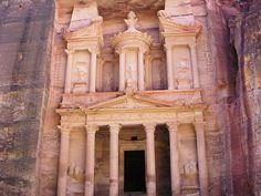 ペトラ遺跡(Petra)。ヨルダン。