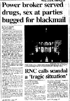 The Franklin Coverup Scandal The Child sex ring that reached Bush/Reagan Whitehouse