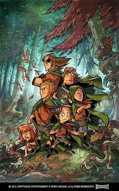 Comic Book Art by Robb Mommaerts