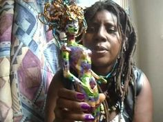 Cannabis Recycling Upcycling Art Dolls And More