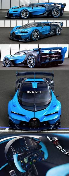 """ALL NEW """" 2017 Bugatti Vision Gran Turismo Concept"""", 2017 Concept Car Photos and Images, 2017 Cars"""