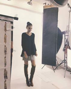 Backstage...#cocolove #photoshoot #lookbook #backstage #sweater #love #beauty #onlineshopping #ontrend http://ift.tt/2dDiod6