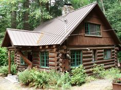 Dancing Bear Steiner Log Cabin