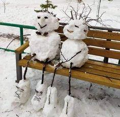 Winter Fun, Winter Time, Winter Christmas, Land Art, Funny Snowman, Snow Activities, Snow Much Fun, Snow Sculptures, Snow Art