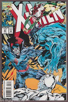 Autographed 1992 Marvel X-MEN #27 comic book SCOTT HANNA Autograph ARTIST