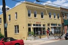 2 Amy's in Upper Northwest/Tenleytown!  No happy hour specials, but Taylor Maher says there are excellent Italian beers, and every Saturday at 4, they roast half a pig for homemade fresh porchetta!  My mouth is watering.