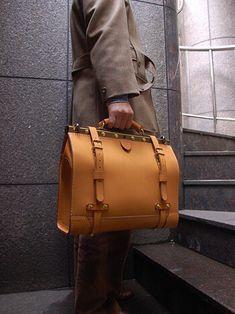 ビジネスキットバッグ(二本ベルトワイドタイプ) 手持ち Men's Backpacks, Backpacks For Sale, Gladstone Bag, Backpack For Teens, Handbags For Men, Work Bags, Leather Briefcase, Leather Men, Leather Bags