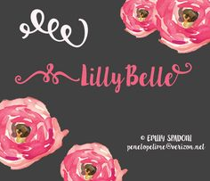 Lilly Belle Font --- Lilly Belle font is a famous various script font family that comes in highly legible text forms, designed by Emily Spadoni. Handwritten Fonts, Typography Fonts, Fuentes Silhouette, Polices Cricut, Font Creator, Silhouette Fonts, Graphic Design Fonts, Hand Lettering Alphabet, Best Free Fonts