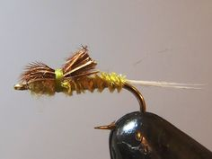 BH CADDIS PUPA LARVA NYMPH TROUT FLY FISHING FLIES GREEN 12 FLIES X SIZE #14