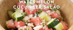 Watermelon Cucumber Salad • Joyous Health
