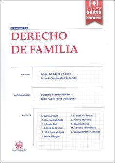Derecho de familia /  Leonor Aguilar Ruiz ... et al.     Tirant lo Blanch, 2015