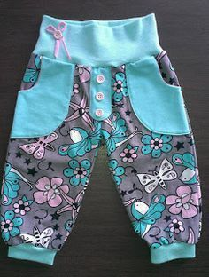 """HaiDesign: Endlich ist er da…Der """"neue Schnitt"""" passend zum Basic""""C""""ut – HaiDesign: Finally it is here … The """"new cut"""" to match the basic """"C"""" ut – Great pants – 3 versions, tight, loose, for diaper wearers Sewing Kids Clothes, Baby Clothes Patterns, Sewing For Kids, Baby Sewing, Baby Patterns, Clothing Patterns, Doll Clothes, Basic Clothes, Kids Clothing"""