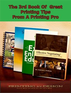 Check Out Another Of Our Great Books On Commercial Printing Tips 3