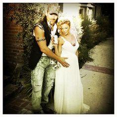 Redneck wedding costume. haha love this